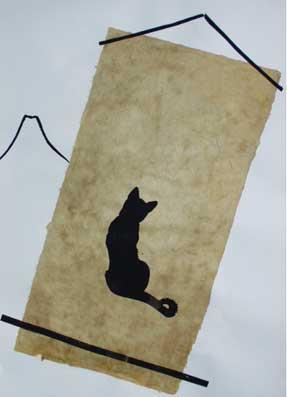 Katze-mit-Fuji