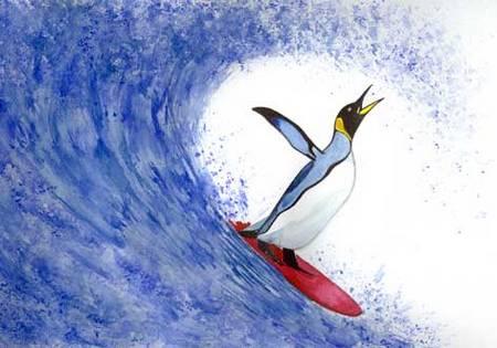 Surfpingunin