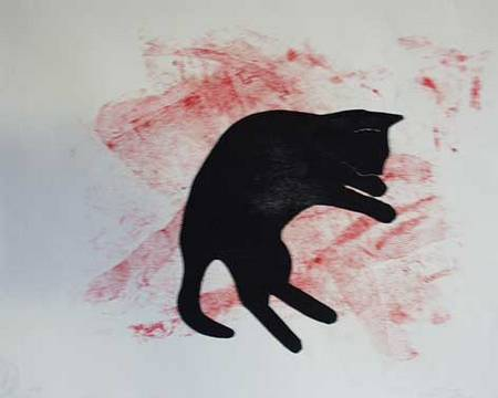 Rotesnetz-mit-Katze