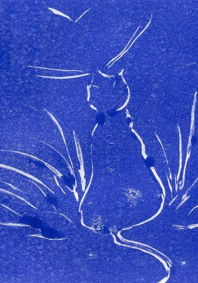 blaue-katze